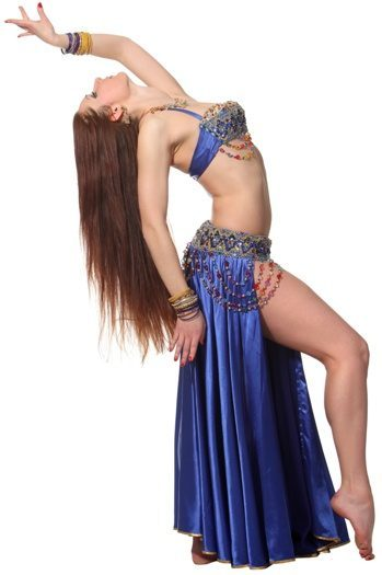 danza del ventre isolazioni petto