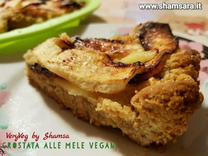 crostata di mele vegan